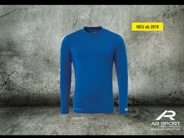 SGV - Spiel/Trainingunterziehshirt-azurblau
