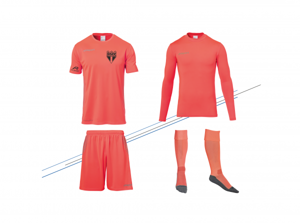 SGV Freiberg - Torwart-Set Orange