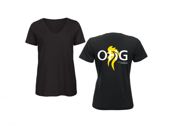 OHG - Schülerinnen T-Shirt (Tailliert) schwarz